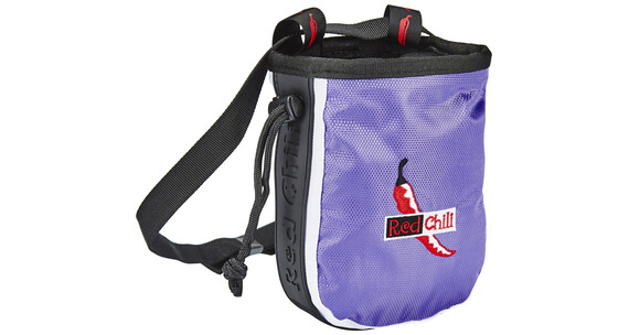 Red Chili Logo Chalkbag lila